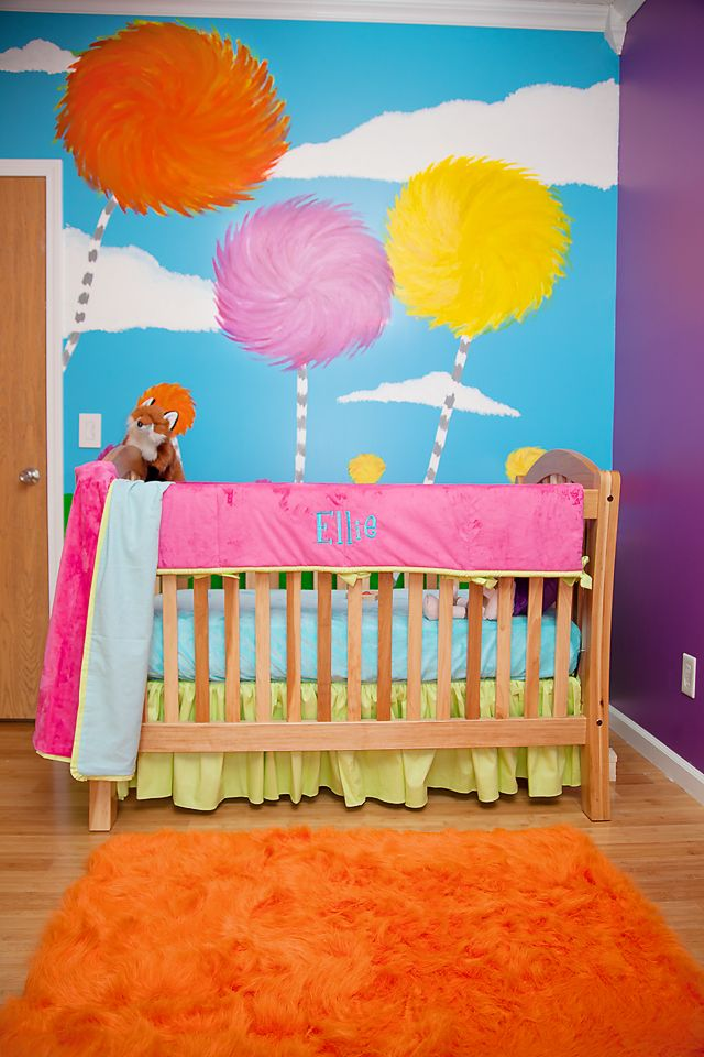Ellie's Lorax Themed Nursery   Project Nursery