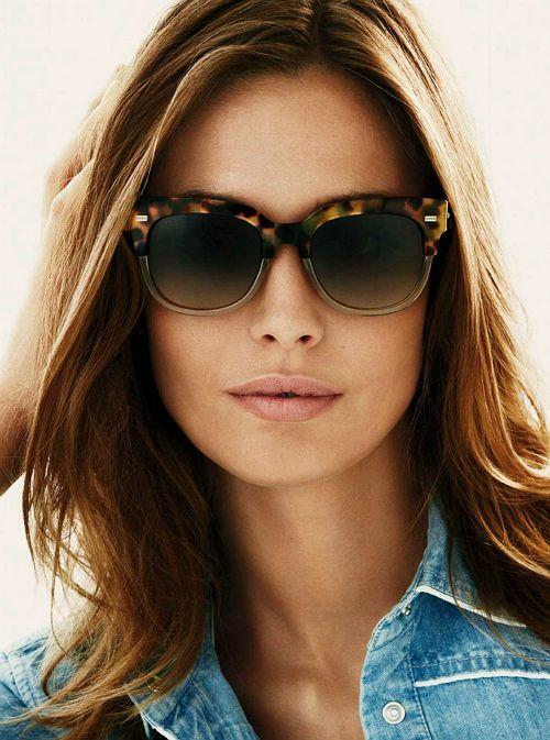Nadja Bender for Gucci Eyewear Spring/Summer 2015 Advertising Campaign.