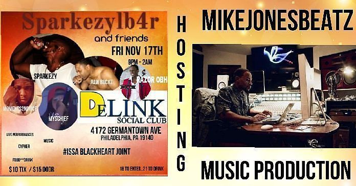 Tonight Gonna Be LitOur host for the night! @mikejonesbeatz This #musicproducer has the mic on lock   ATTENTION! ATTENTION! YOUR PRESENCE WILL BE DEEMED AS PERMISSION TO BE FILMED AND POSTED ON THISIS50.COM Slots are filled!! This will be an #epic night! #supportsystem  #network  #BLACKHEARTGANG #LB4RNATION #BIPOLARMUZIK #REALITYMUSIC special invited guests will be in the building.  Be there to witness #ISSA #PARTY PRIZE FOR THE HYPE CONTEST CYPHER  MIXTAPE RELEASE #22tiii #newmusic ALL…