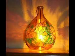 dipingere bottiglie di vetro -