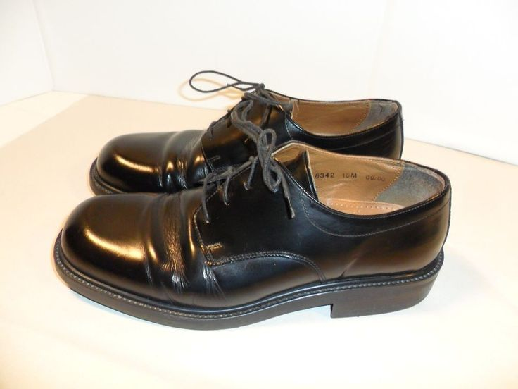 mens bass shoes classic oxfords dress casual black