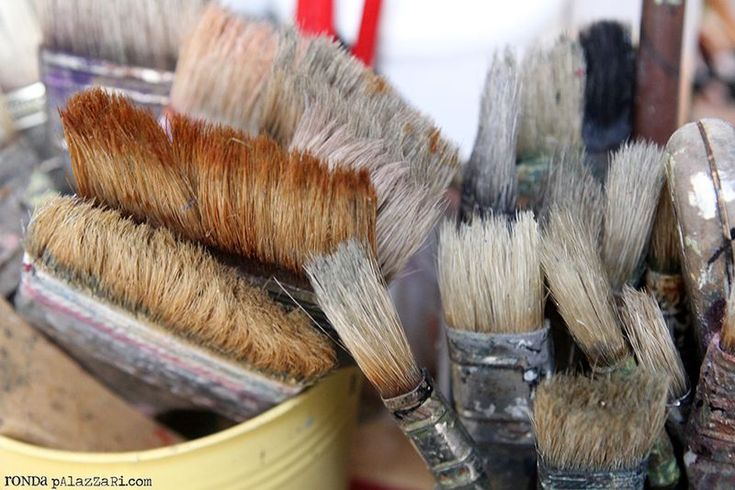 Ronda Palazzari - Create Daily: The Paint Brush - Cleaning & Care