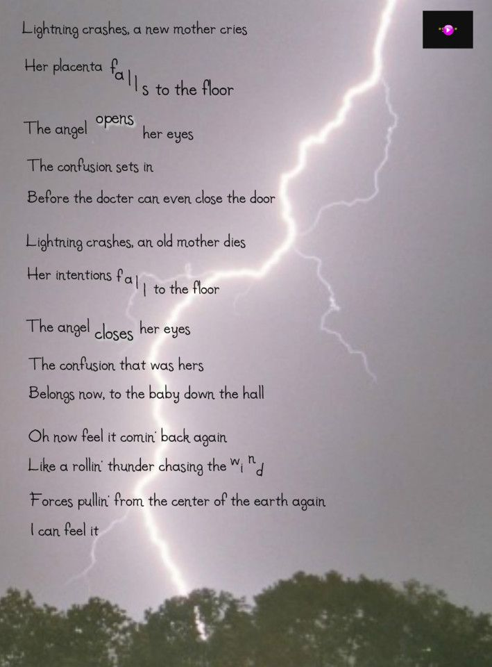 'Lightning Crashes' ~ Live