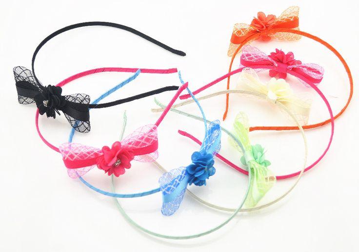 """Barato 2016 Moda Arcos Bonito Da Fita Da Flor Do Bebê Da Criança Hairbands Crianças Headbands Crianças Cabelo Hoop Acessórios Para o Cabelo Tiara Para A Menina, Compro Qualidade Acessórios de Cabelo diretamente de fornecedores da China: tamanho = 12 cmo comprador Deve Ler:1, se você escolher o modo de transporte, """" China Post Ordinária Pequenos Pa"""