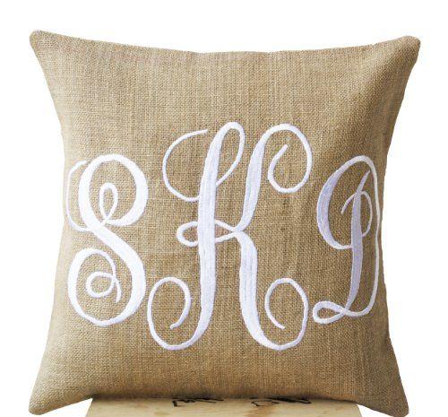 Amore Beaute Handcrafted Burlap Monogram Pillow Covers Em... https://www.amazon.com/dp/B00I6K20V8/ref=cm_sw_r_pi_dp_x_w4bWyb114CMBX