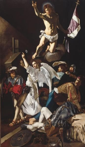 Francesco Buoneri (Cecco del Caravaggio) - The Resurrection