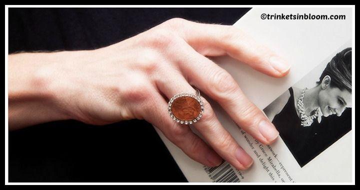 DIY Penny Ring Tutorial