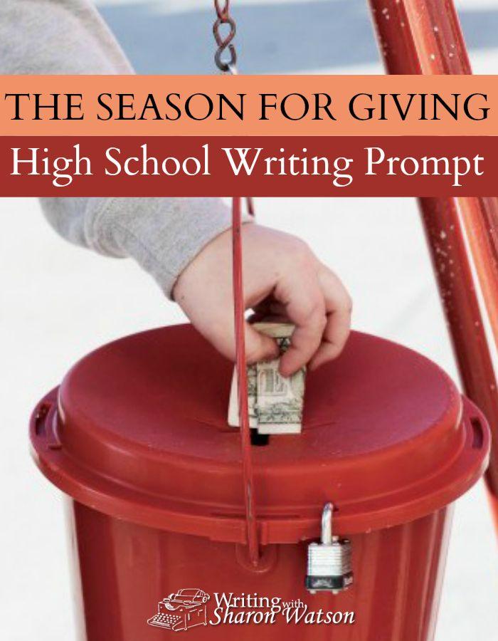 High school senior essay prompts