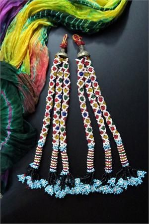 Long Vintage Baluchi Tribal Tassels
