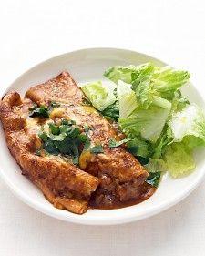 Tex-Mex Beef Enchiladas - Martha Stewart Recipes