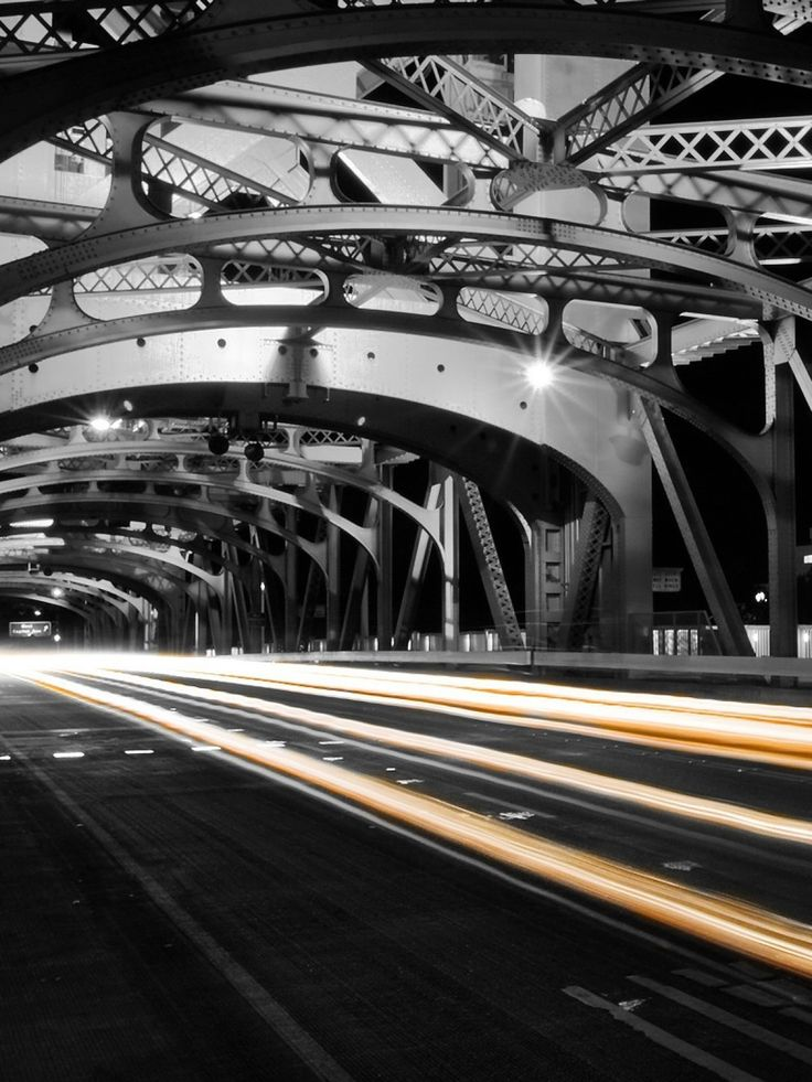 Abstract Road lighting Bridge mobile wallpaper Abstract Road lighting Bridge mob...