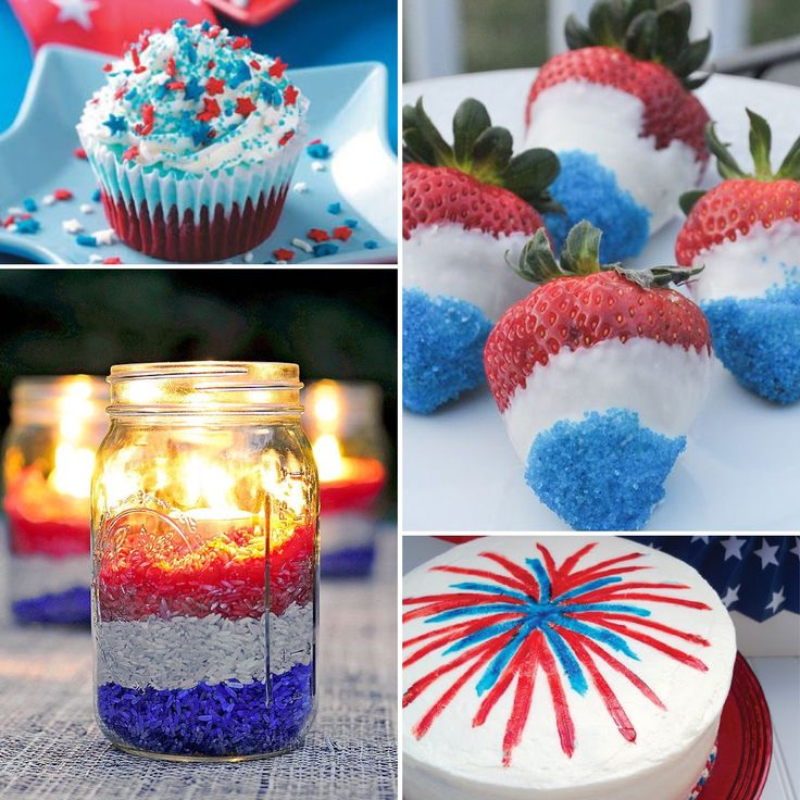 30 Patriotic Home Decoration Ideas In White Blue And Red: 46 Best Images About 4th Of July On Pinterest