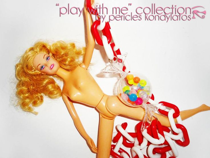"""play with me"" collection By Pericles Kondylatos Fashion: a field of glamour, money, beauty and sparkle! Beautiful models, with perfect skin & bodies, smile at you, and reflect a perfect state of being, of happiness & success. But what happens behind the scenes? An inside look in fashion's devious, dark seductive world, where egos are bigger than the statue of liberty, vanity, antagonism, brutality and cruelty."