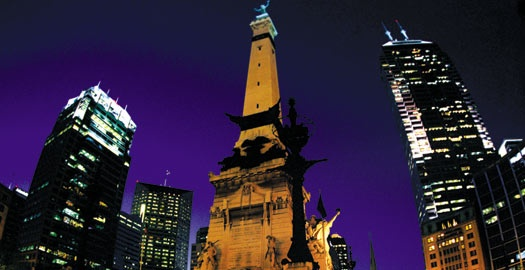 Soldiers & Sailors Monument on Monumnet Circle