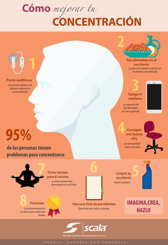 ¿Cómo mejorar tu concentración? Sigue estos tips.