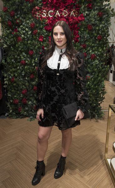 Kat Shoob attends New Flagship Store Opening of Luxury Fashion Brand ESCADA, on Sloane Street on November 15, 2017 in London, England.