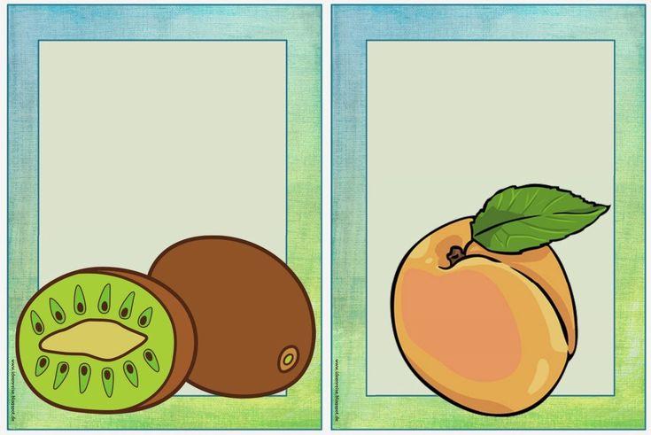 """Englisch in der Grundschule:: Erweitungsset """"fruits"""""""