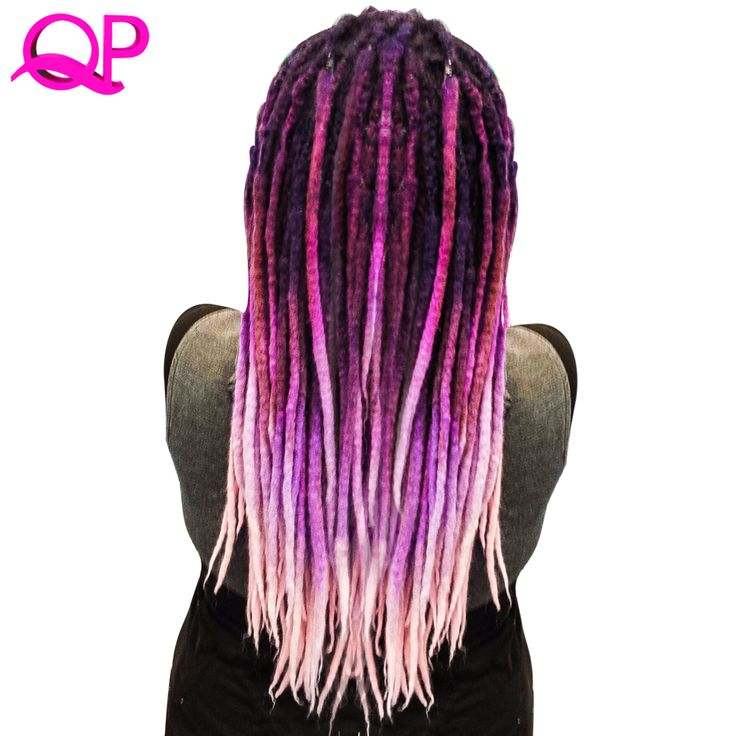 Qp Hair one PCS Dreadlocks 5 stand Hair Crochet Marley Handwork Hair Kanekalon Crochet Braiding Synthetic Hair