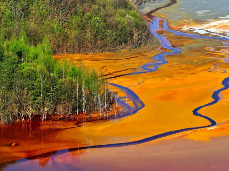 Pollution from the cloth dyeing industry in China's Zhejiang province is causing a major environmental disaster, says Greenpeace.
