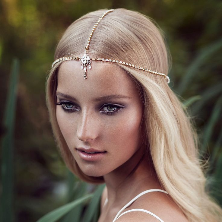 bohemian headpiece, romantic   OLIVIA HEADPIECES