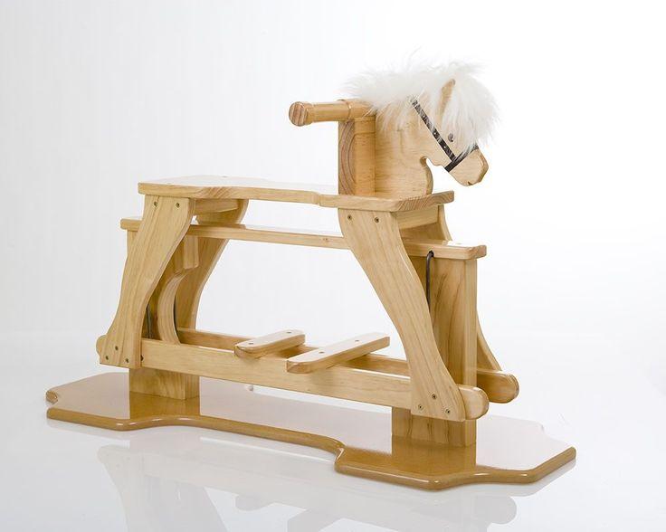 rocking horse natural $200