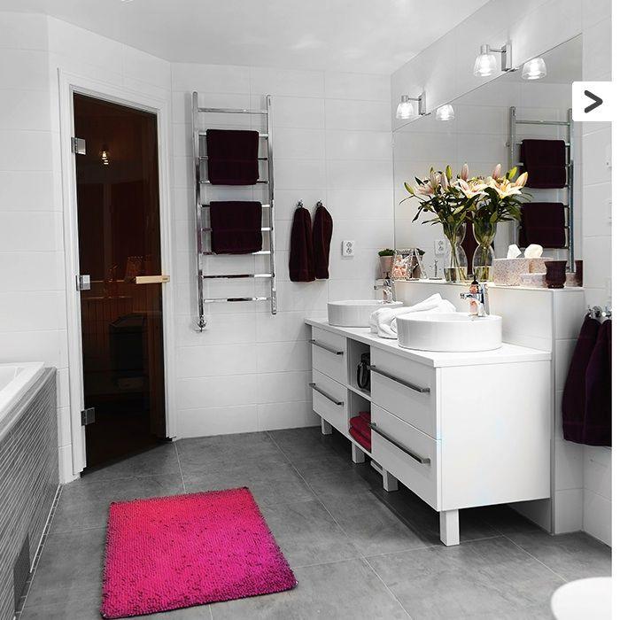 Letar du efter ett perfekt klinker till ditt badrum? Konradssons Damasco grå 60X60 cm är en klassisk platta som ger ditt badrum en elegant touch. #Klinker #Kakel #Klassiskt #Modern #Inspireras