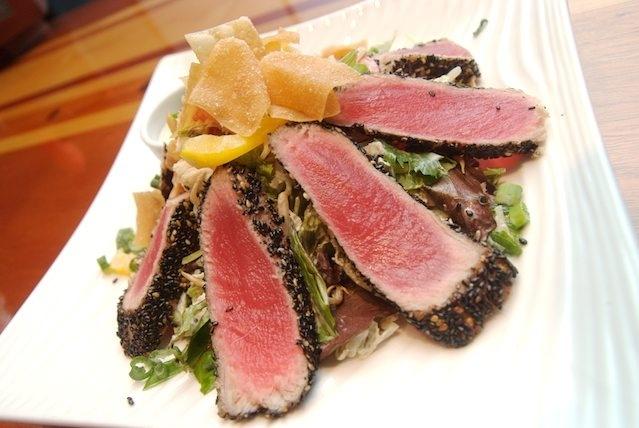 Love Sesame Crusted Ahi tuna | Food & Recipes | Pinterest