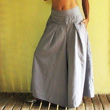 Wide Pants 1425 in custom size van cocoricooo op Etsy