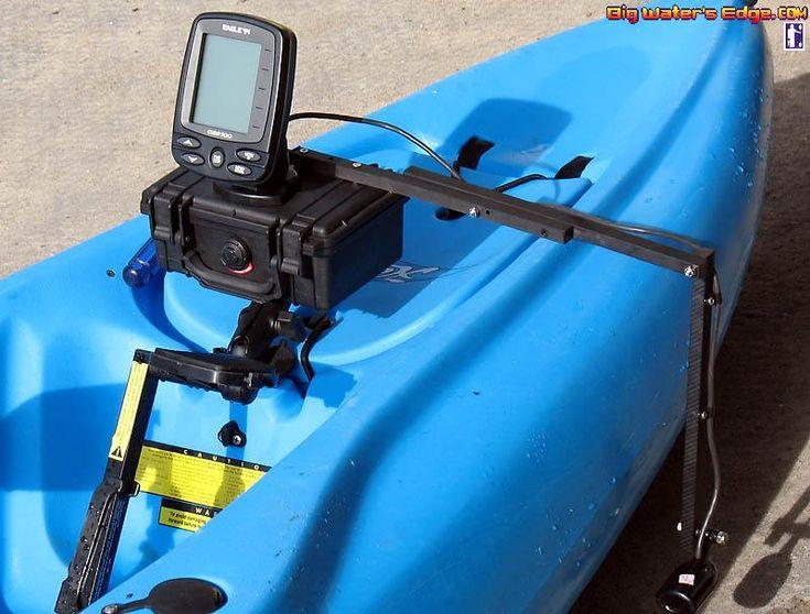 584 best images about kayaking fishing on pinterest for Kayak fish finder mount