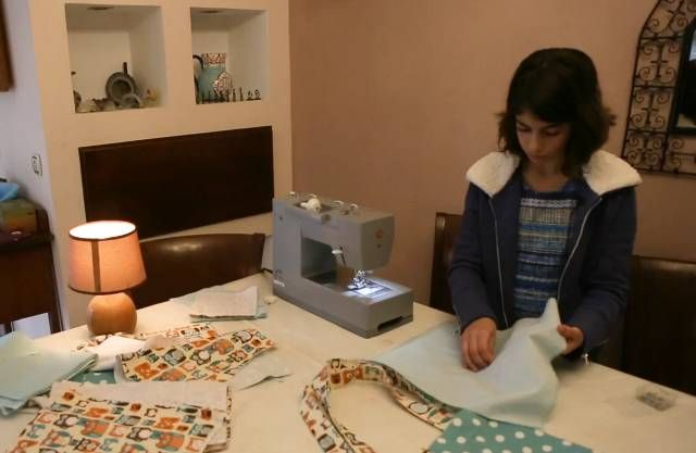 An Israeliemergency response team in Puerto Rico is getting some unlikely assistance from an 11-year-old Israeli girl whosews and sells textile bags to benefit the hurricane relief effort.  {PROPHECY: ISRAEL BLESSING HUMANITY - Genesis 12:2-3}