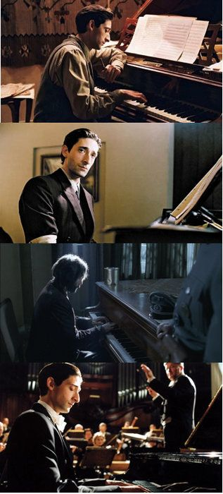 25+ best ideas about A... Adrien Brody The Piano