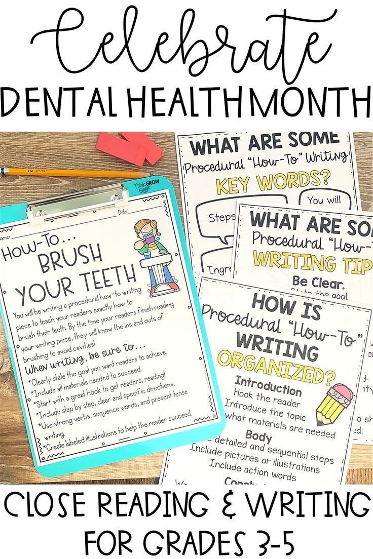Dental Health Activities Reading Comprehension Strategies Dental Health Activities Close Reading Strategies [ 1104 x 736 Pixel ]