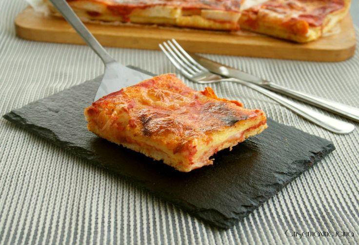 La pizza veloce del buongustaio, gustosa e di facile realizzazione.