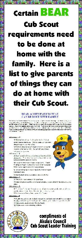 Here is a PRINTABLE & EDITABLE document you can give out to the families in your Den. This site has a lot of Blue & Gold Ideas, Tracking Sheets & lots of other great Cub Scout Ideas compliments of  AkelasCouncil.com