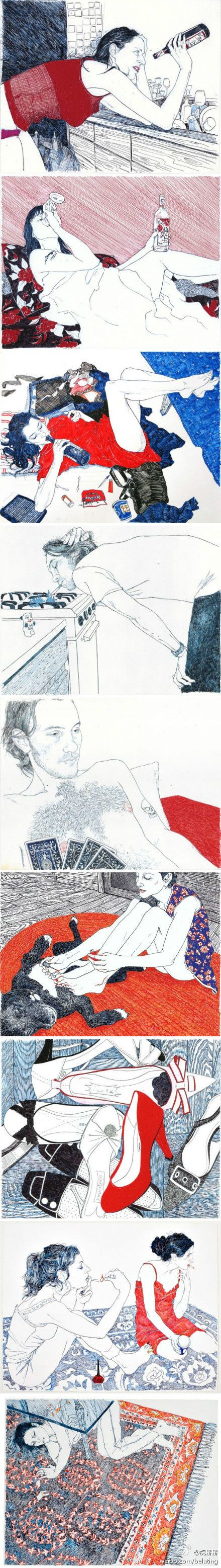 logsee collection to illustrator hope gangloff ballpoint pen