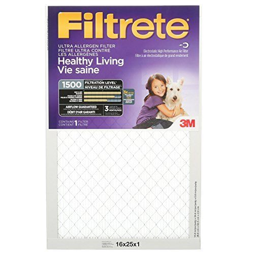 filtrete allergen furnace filter 16x25x1 - Filtrete Air Filter
