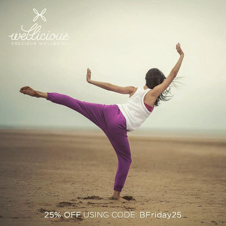 BLACK FRIDAY! 25% off now at Wellicious using code: BFriday25 Shop now: www.wellicious.com - offer ends Monday & is only valid on full priced items. #BlackFriday #Yoga #BeWellicious
