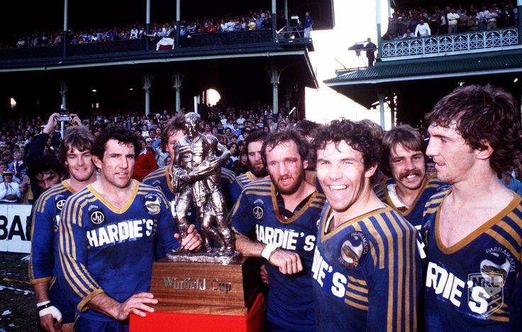 Parramatta Eels - 1982 #NRL Premiers