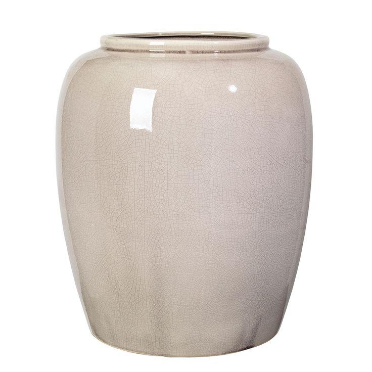 Crackle+Vase+36+cm,+Rainy+Day,+Broste+Copenhagen
