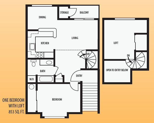 Charming One Bedroom With Loft House Plans Pictures - Best idea ...