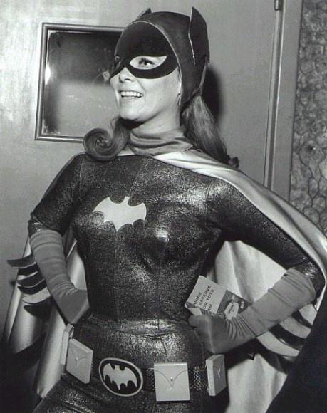 Yvonne Craig as Batgirl from the 1960s TV series Batman.