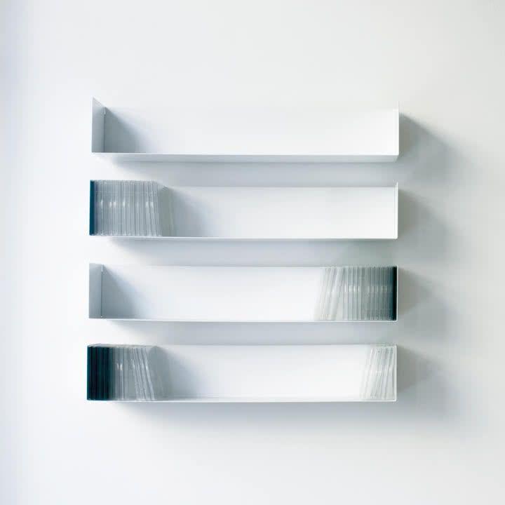 linea1 b _ CD-Regal in weiß