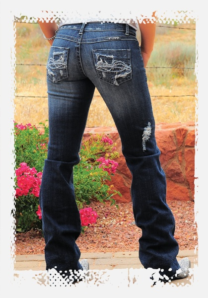 Love these jeans!  Cowgirl Tuff Co. - Filly style.  So comfy and look good on!