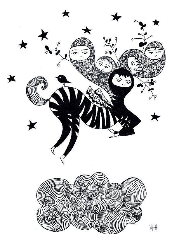 Zebra in the sky - MATAGADA