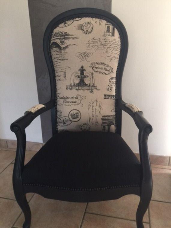 les 25 meilleures id 233 es concernant fauteuil voltaire sur retapisser un fauteuil