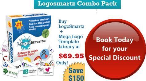 Biggest Offer of the Season. Get Logosmartz Logo designing program + Mega Logo Templates Library at a Saving of $150. Rush now to http://www.logosmartz.com