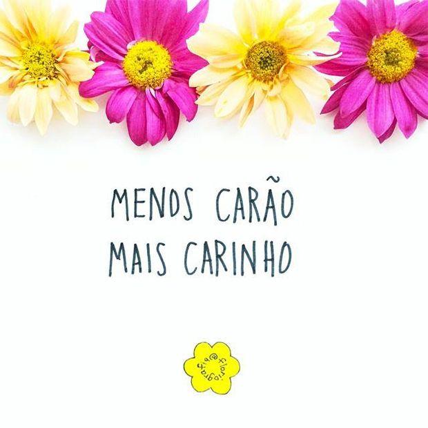 Floriografia: flores e palavras são inspiração no Instagram