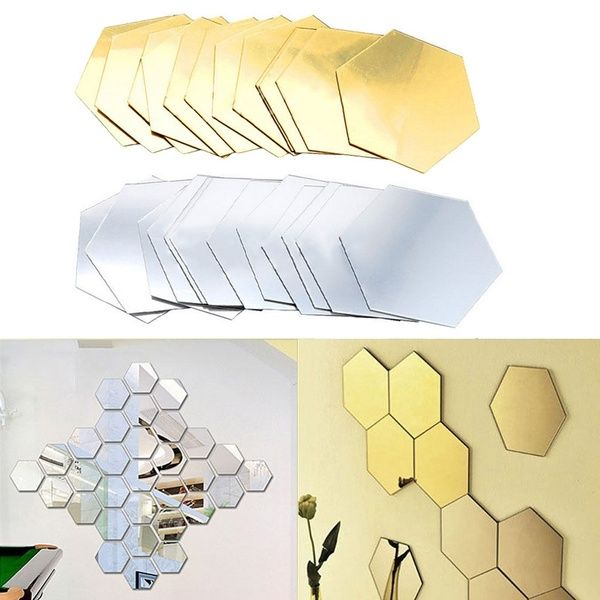 Wall Stickers 12pcs 3D Home Decor Sticker Room Decoration DIY