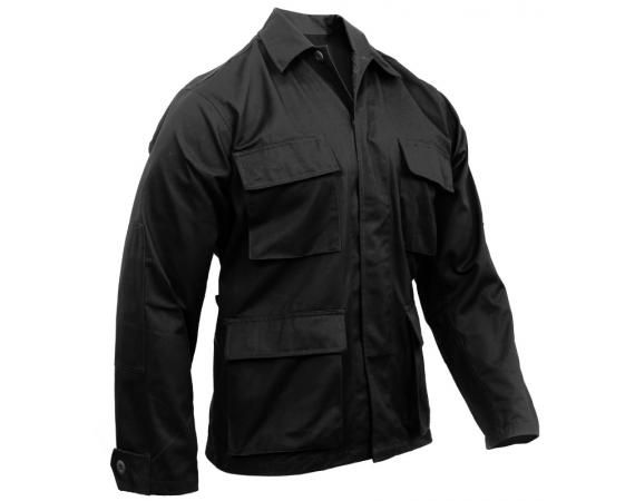 Black BDU Shirt   Vermont's Barre Army Navy Store