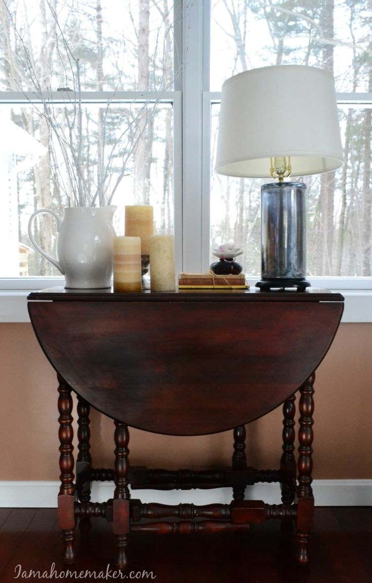 Why I Love My Antique Gateleg Table Home Decor Classic